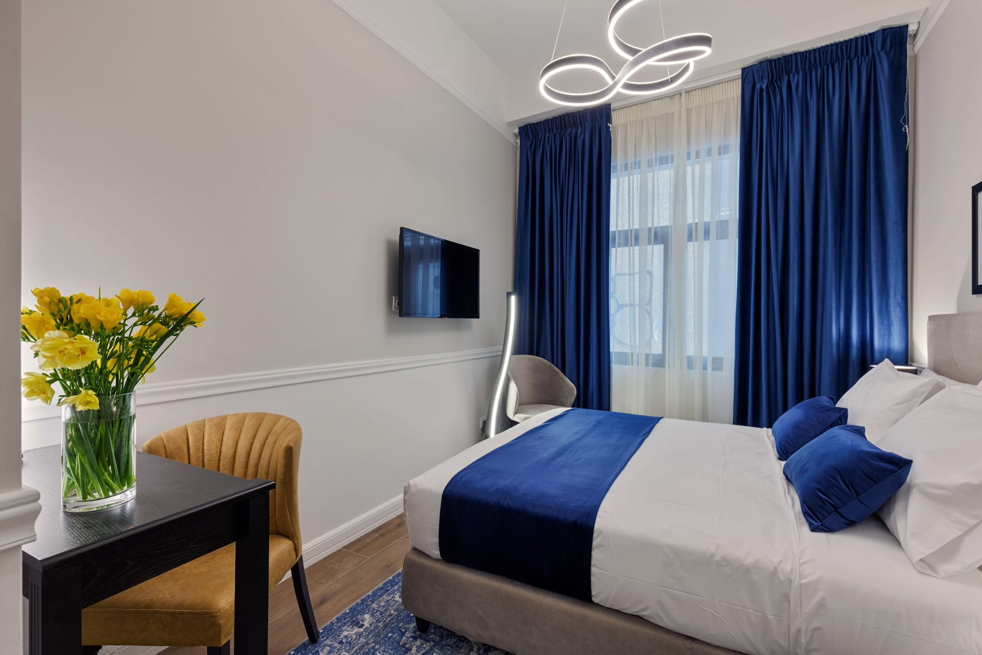 The Standard Double Room of Classic by Athens Prime Hotels in the center of Athens, Greece.