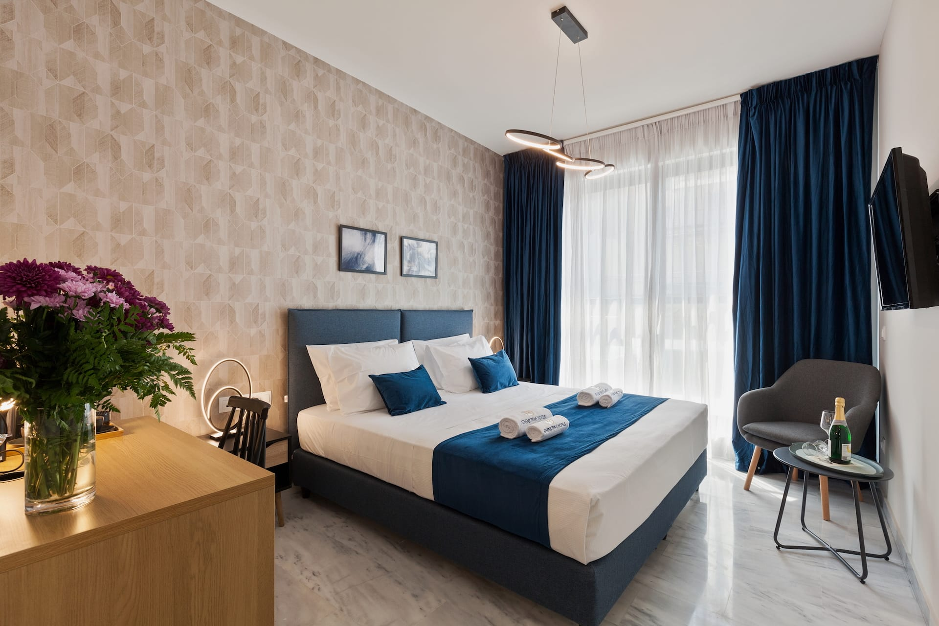 The Trendy by Athens Prime hotels Deluxe Room. Luxury double rooms in the center of Athens, Greece